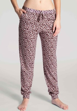 PANTS MIT BÜNDCHEN - Pyjama bottoms - deauville mauve