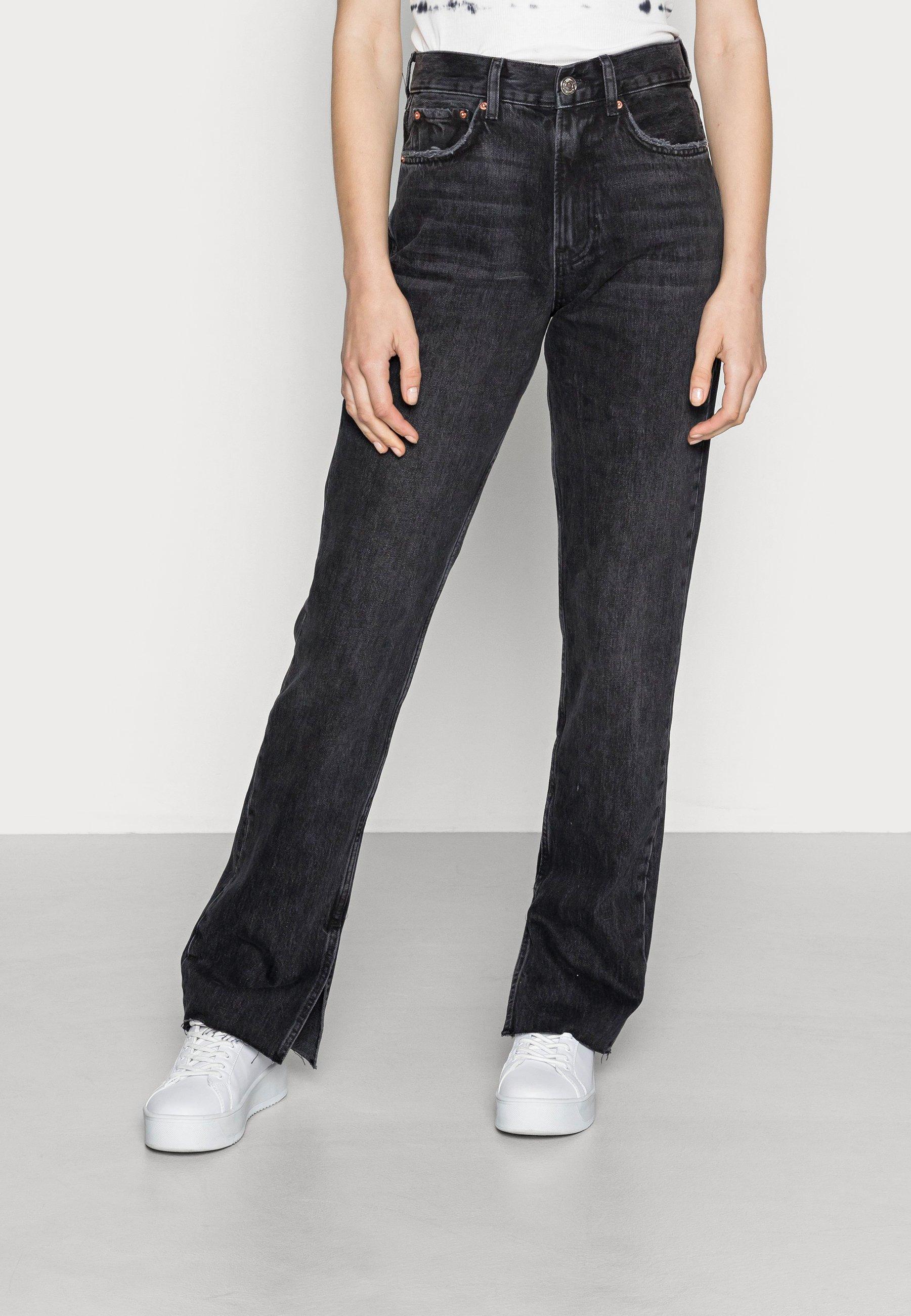 Women ORIGINAL SLIT - Straight leg jeans