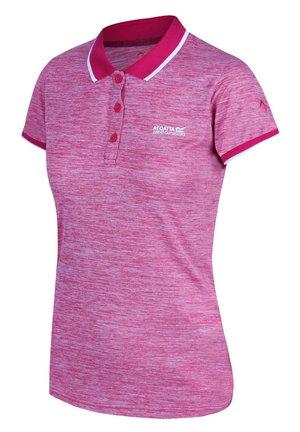 REMEX  - Polo shirt - dark cerise