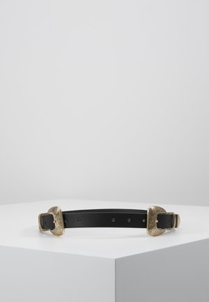 PCJURAH WAIST BELT KEY - Cintura - black/gold-coloured