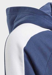 adidas Performance - ADIDAS ATHLETICS CLUB  HOODIE - Felpa aperta - blue - 3