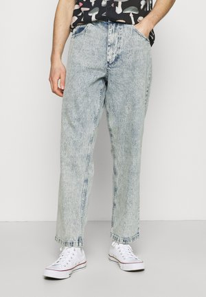 VENICE PANT - Jeans Tapered Fit - light blue washed denim