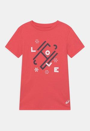 TENNIS UNISEX - T-shirt con stampa - pink grapefruit