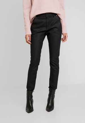 BLAKE GALLERY PANT - Spodnie materiałowe - black