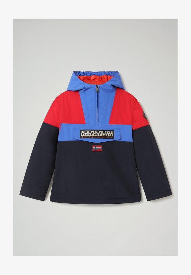 RAINFOREST COLOUR BLOCK - Light jacket - blu marine