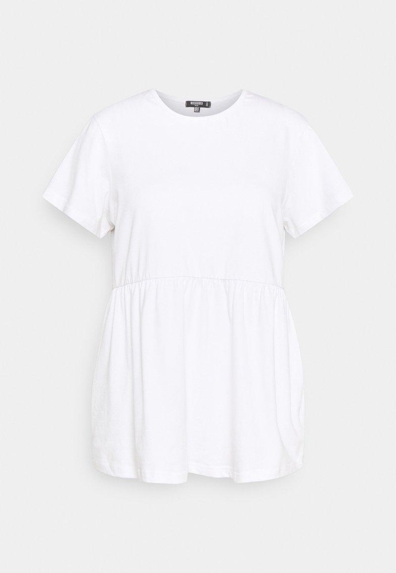 Missguided Plus - Basic T-shirt - white