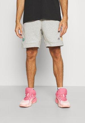 DONOVAN MITCHELL BASKETBALL SHORTS - Pantaloncini sportivi - medium grey heather