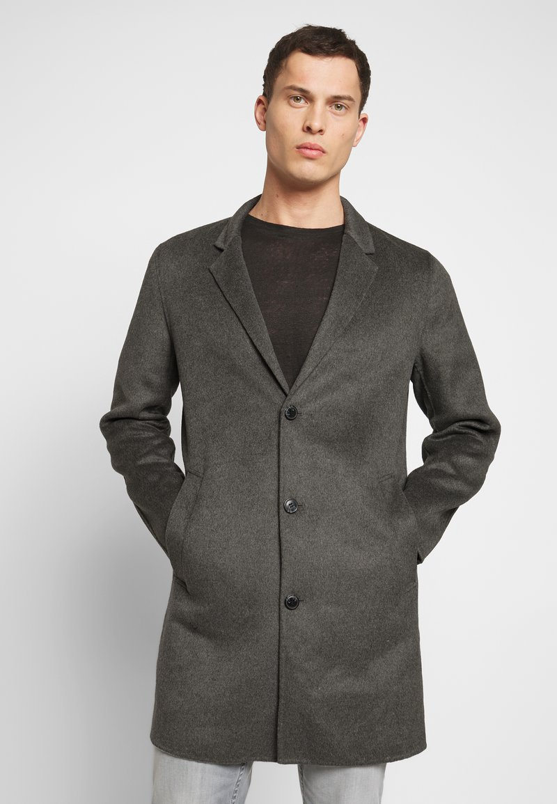 Jack & Jones PREMIUM - JPRFLOW  - Short coat - light grey melange