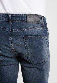 Pier One - Slim fit jeans - blue grey - 5
