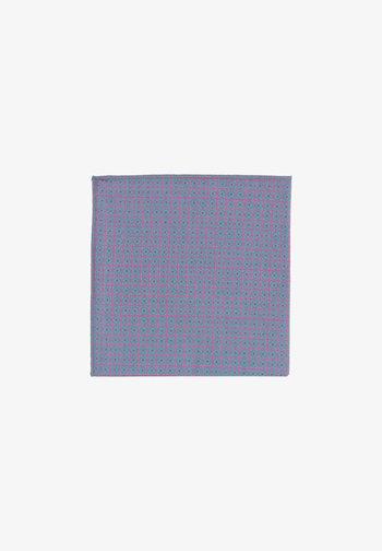 EINSTEIN - Pocket square - grau/pink