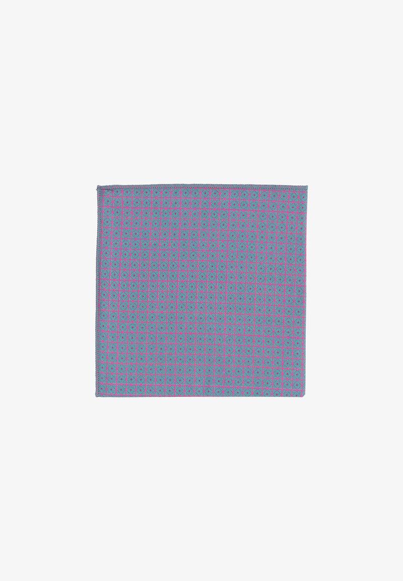 Hans Hermann - EINSTEIN - Pocket square - grau/pink