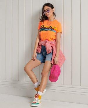 CALI - Print T-shirt - shocker orange