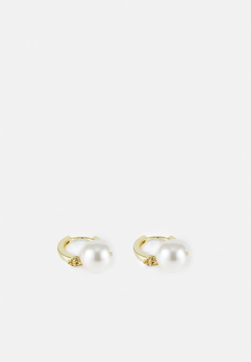 SNÖ of Sweden - MIDNIGHT PEARL SMALL RING EAR - Orecchini - gold-coloured