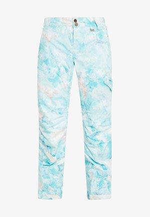 ADVENTURE AWAITS PANT - Spodnie narciarskie - light blue