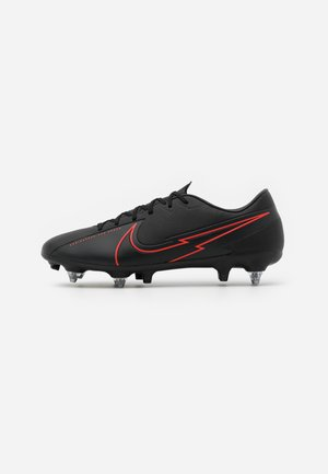 VAPOR 13 ACADEMY SG-PRO AC - Screw-in stud football boots - black/dark smoke grey