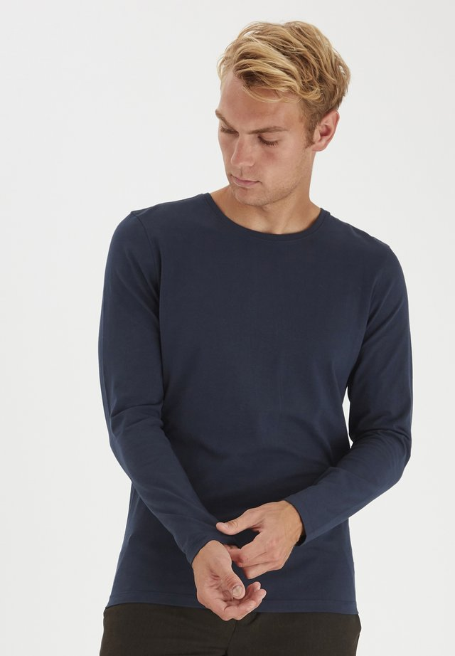 THEO LS  - Long sleeved top - navy blazer