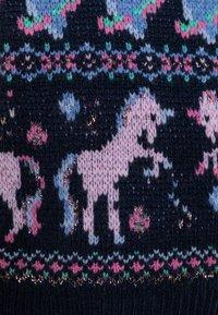 J.CREW - FAIRY FAIRISLE - Pullover - navy/lilac/multicolor - 2