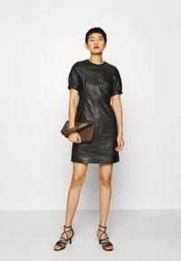 Ibana - ODILA - Shift dress - black - 1
