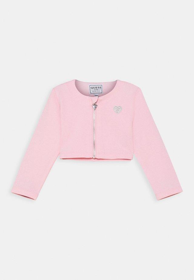 PONTE  BLAZER - Cardigan - alabaster pink