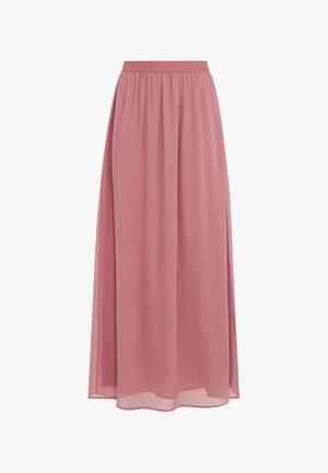 Maxi skirt - rosenquarz