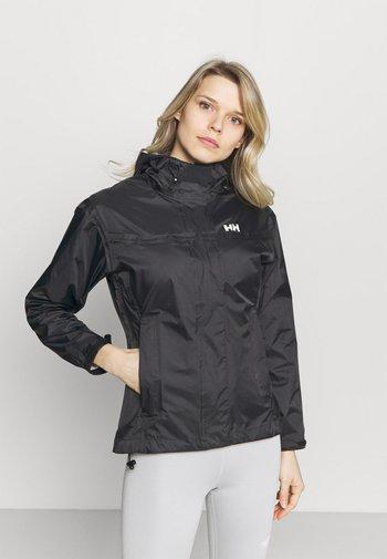 LOKE JACKET - Hardshell jacket - black