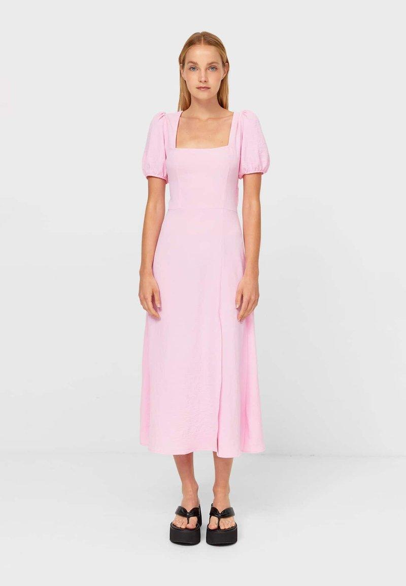 Stradivarius - Day dress - light pink