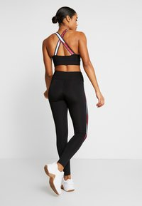 Tommy Sport - LEGGING FULL LENGTH WITH TAPE - Tights - black - 2