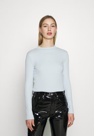 SAMINA - Long sleeved top - light blue