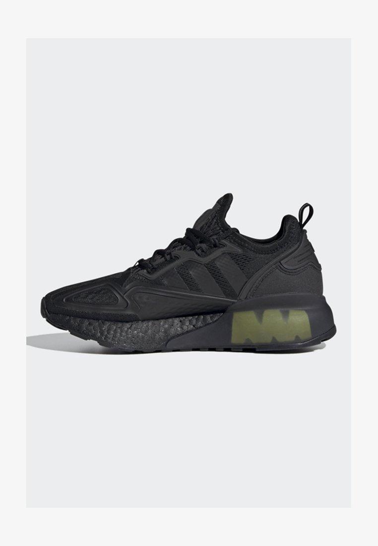 adidas Originals - ZX 2K BOOST J - Trainers - black