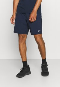 Reebok - SHORT - Sports shorts - vector navy - 0