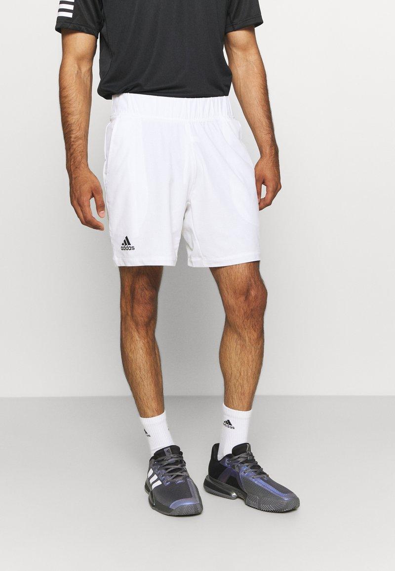 adidas Performance - ERGO SHORT - Träningsshorts - white/black