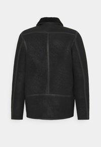 PS Paul Smith - JACKET - Leather jacket - black - 8