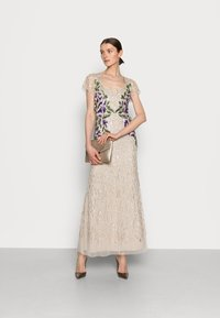 Adrianna Papell - BEADED LONG GOWN - Occasion wear - biscotti - 1