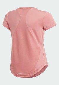 adidas Performance - AEROREADY BOLD  - Camiseta estampada - pink - 1