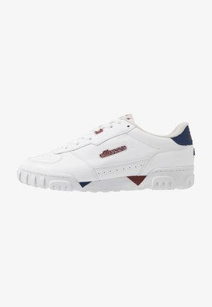 TANKER - Sneakers - white/dark blue/dark red