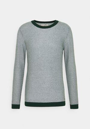 CREWNECK - Jumper - green/white