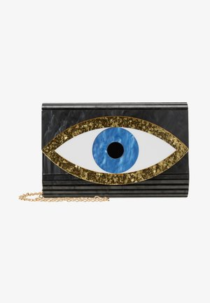 EYE PARTY ENVELOPE - Bandolera - black