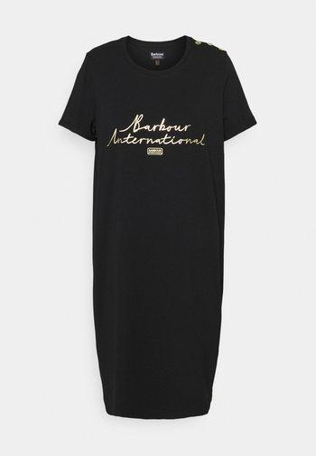 SITKA DRESS - Jersey dress - black