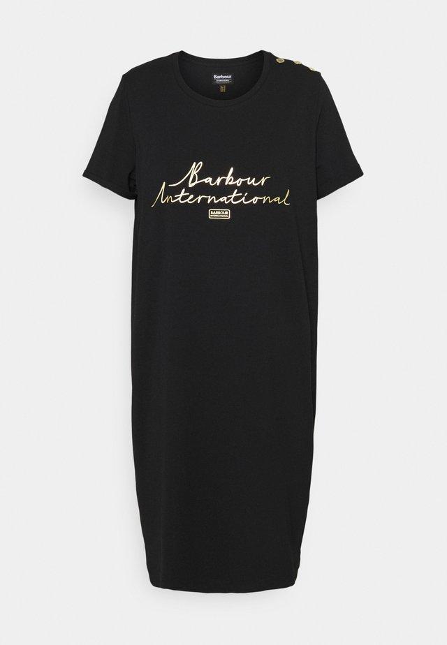 SITKA DRESS - Žerzejové šaty - black