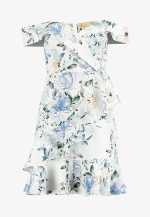 KELLY RUFFLE DRESS - Day dress - porcelain