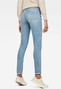 G-Star - 3301 HIGH SKINNY  - Jeans Skinny - light-blue denim - 1