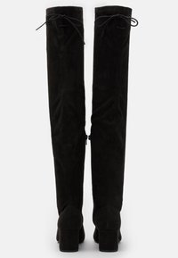 Nly by Nelly - BLOCK HEEL THIGH BOOT - Over-the-knee boots - black - 3