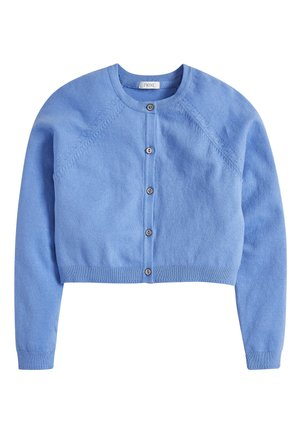 SAGE CROPPED CARDIGAN (3-16YRS) - Kardigan - blue