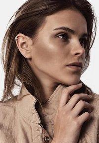 No More - FLAT UPPER EAR CUFF - Earrings - silver - 0