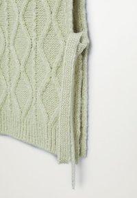 Mango - MANATI - Waistcoat - vert pastel - 7