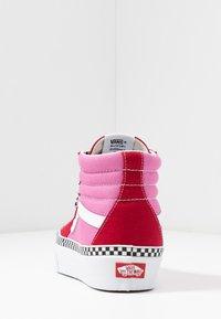 Vans - SK8 PLATFORM  - Sneakers hoog - chili pepper/fuchsia pink - 5