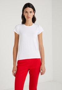 J.CREW - CREW STRETCH SHORT SLEEVE TEE - Basic T-shirt - white - 0