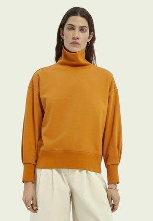 Sweatshirt - sunset orange