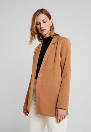 TARA  - Short coat - tobacco brown