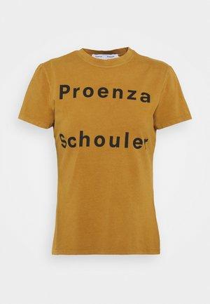 SOLID LOGO  - Camiseta estampada - khaki